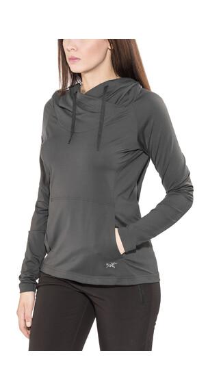 Arc'teryx Varana T-Shirt LS Women Charcoal